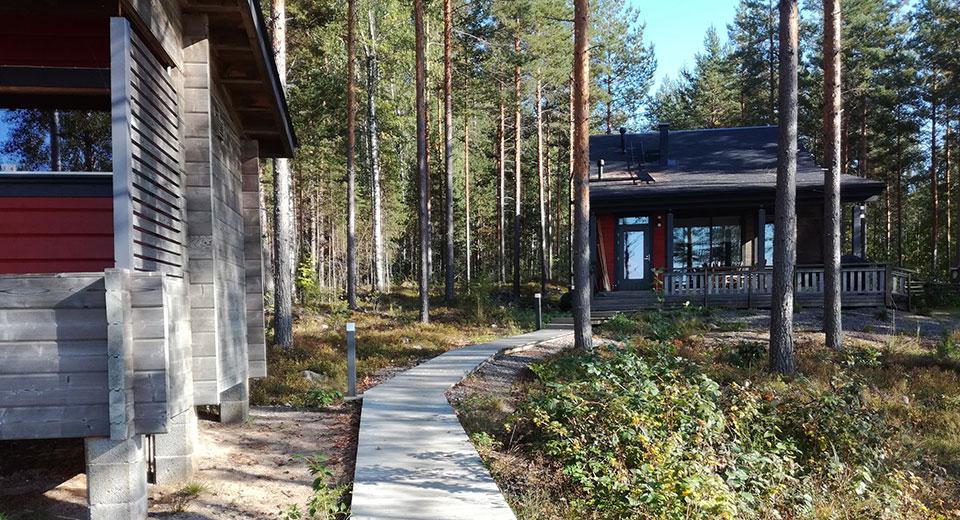 Villa Hauki, Nestorinranta, Saimaa